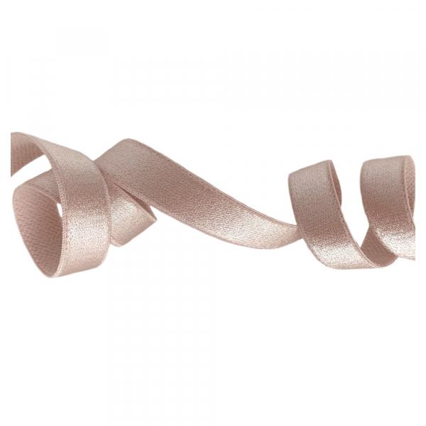 Бретелечная резинка 15мм 740/15 серебристый пион
