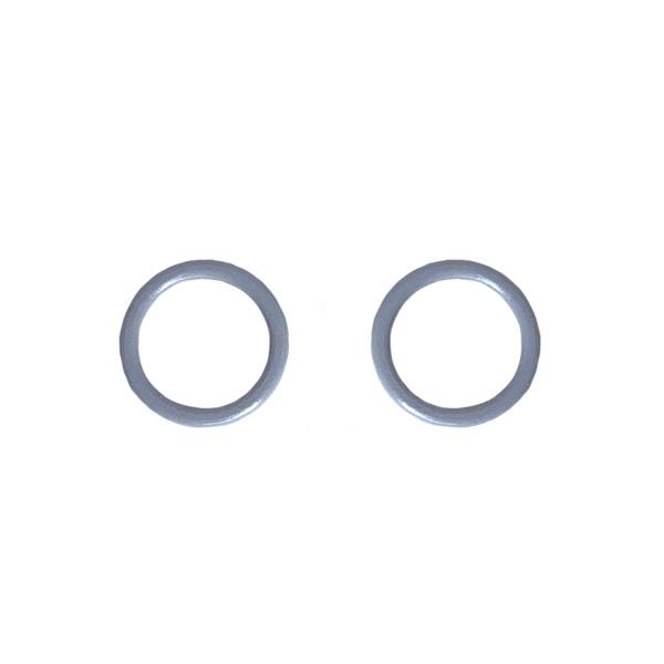 Кольцо 10мм металл 2шт св.серый (лунная скала) (2475)