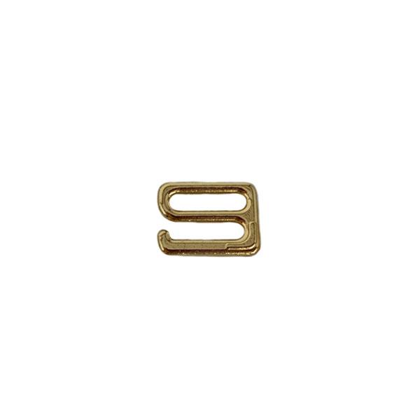 Крючок - застежка металлический 10мм золото