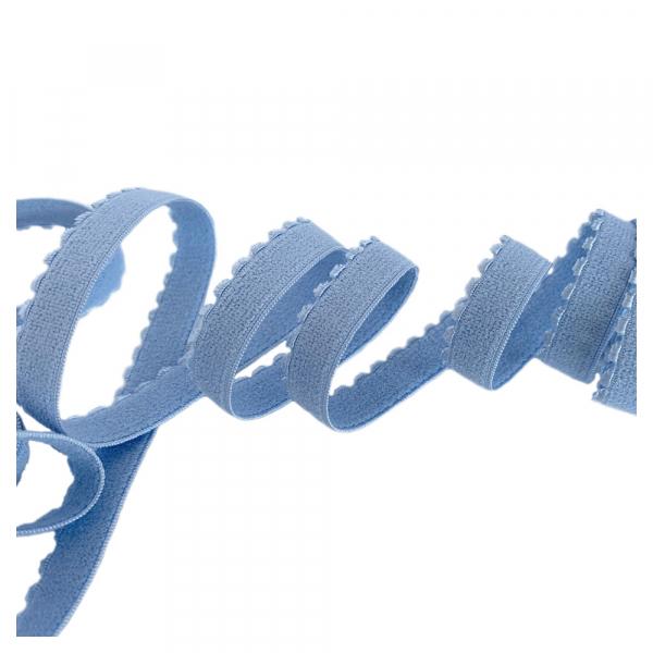 Резинка отделочная 12мм 641/12 голубой (млечный путь) (3090)