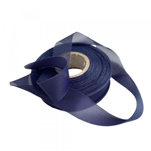 Лента окантовочная для швов 20мм темно-синяя