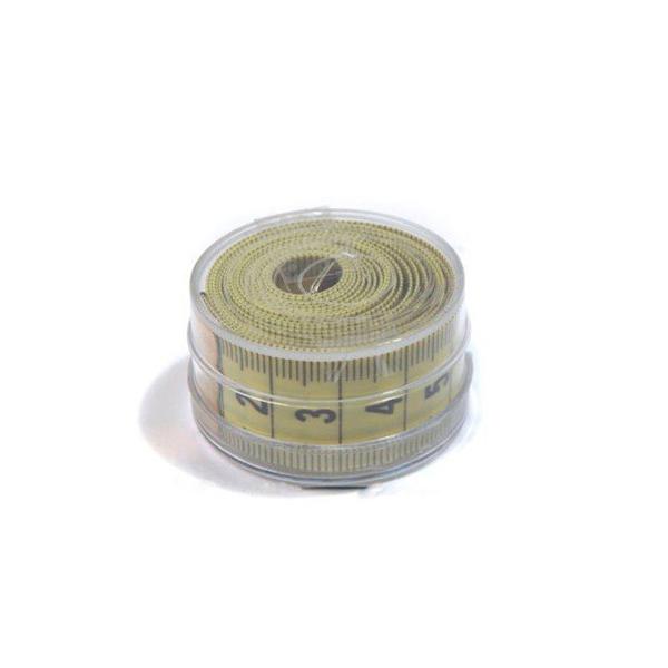 Сантиметр портновский 2х150см ассорти в пластиковой коробочке