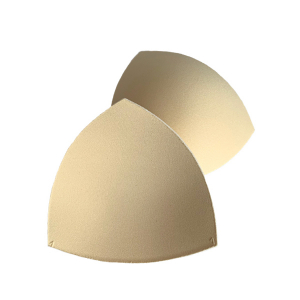 Чашки вкладыши для купальников, р.1 (36-38), треугольные, бежевый (126), FN-75