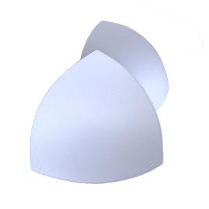 Чашки вкладыши для купальников, р.3 (44-46), треугольные, белый (001), FN-75