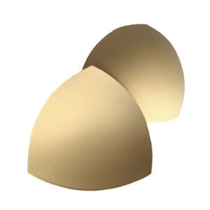Чашки вкладыши для купальников, р.3 (44-46), треугольные, бежевый (126), FN-75