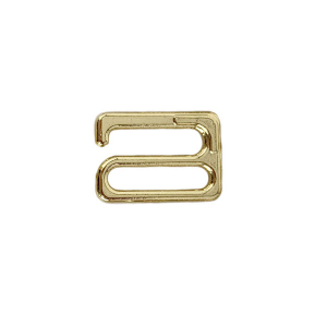 Крючок (застежка) 15мм металлический золото