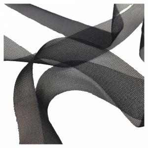 Лента окантовочная для швов 20мм чёрный