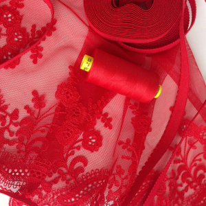 Нитки Gutermann Mara 150/1000м цвет 365 / красный