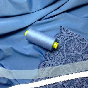 Нитки Gutermann Mara 150/1000м цвет  74 / голубой
