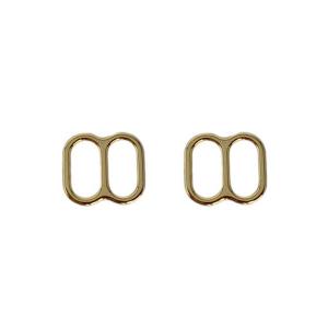 Регуляторы для купальников 10мм металл 2шт золото