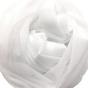 Сетка эластичная стрейч белый (001), ш.155см, 3001