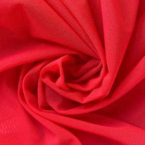 Сетка эластичная стрейч красный (100), ш.150см, 556
