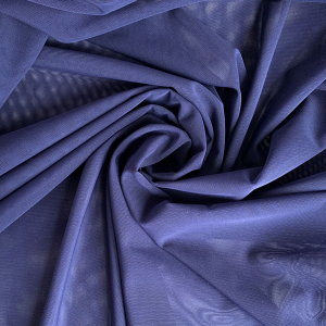 Сетка эластичная стрейч тёмно-синий (061), ш.150см, 556