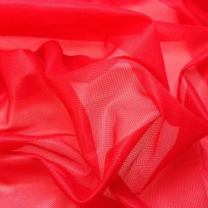 Сетка неэластичная (корсетная) ш.145см красный