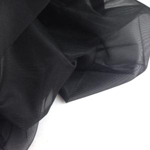 Сетка неэластичная (корсетная) ш.160см 387 чёрный (170)