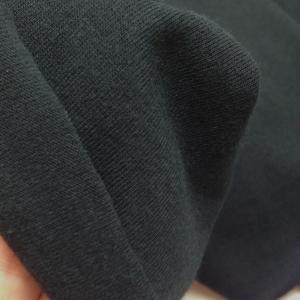 Трикотаж кулирка, 50х50см, чёрный (170), хлопок 100%, 120-125г/м2