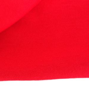 Трикотаж кулирка, 50х50см, красный (100), хлопок 100%, 120-125г/м2