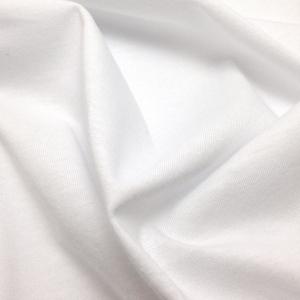 Трикотаж кулирка, белый (001), хлопок 100%, 120-125г/м2, ш.150см