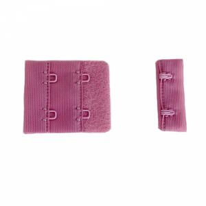 Застёжка крючок-петля ш.38мм 2крючка 2-ряда петель фламинго (026)